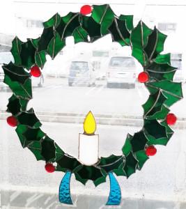 Tさんのクリスマスリース
