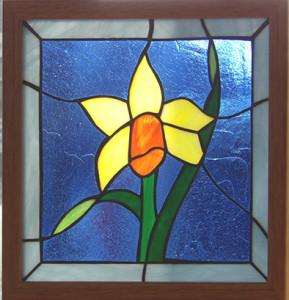 早春に咲く水仙