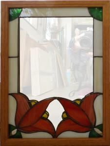 都築さんの鏡