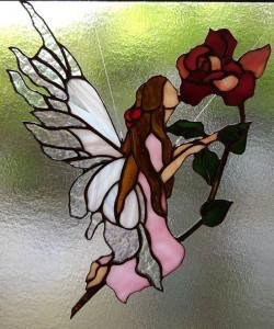 Tzさんの妖精とバラ2